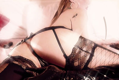 Exquisite Gartered Lingerie
